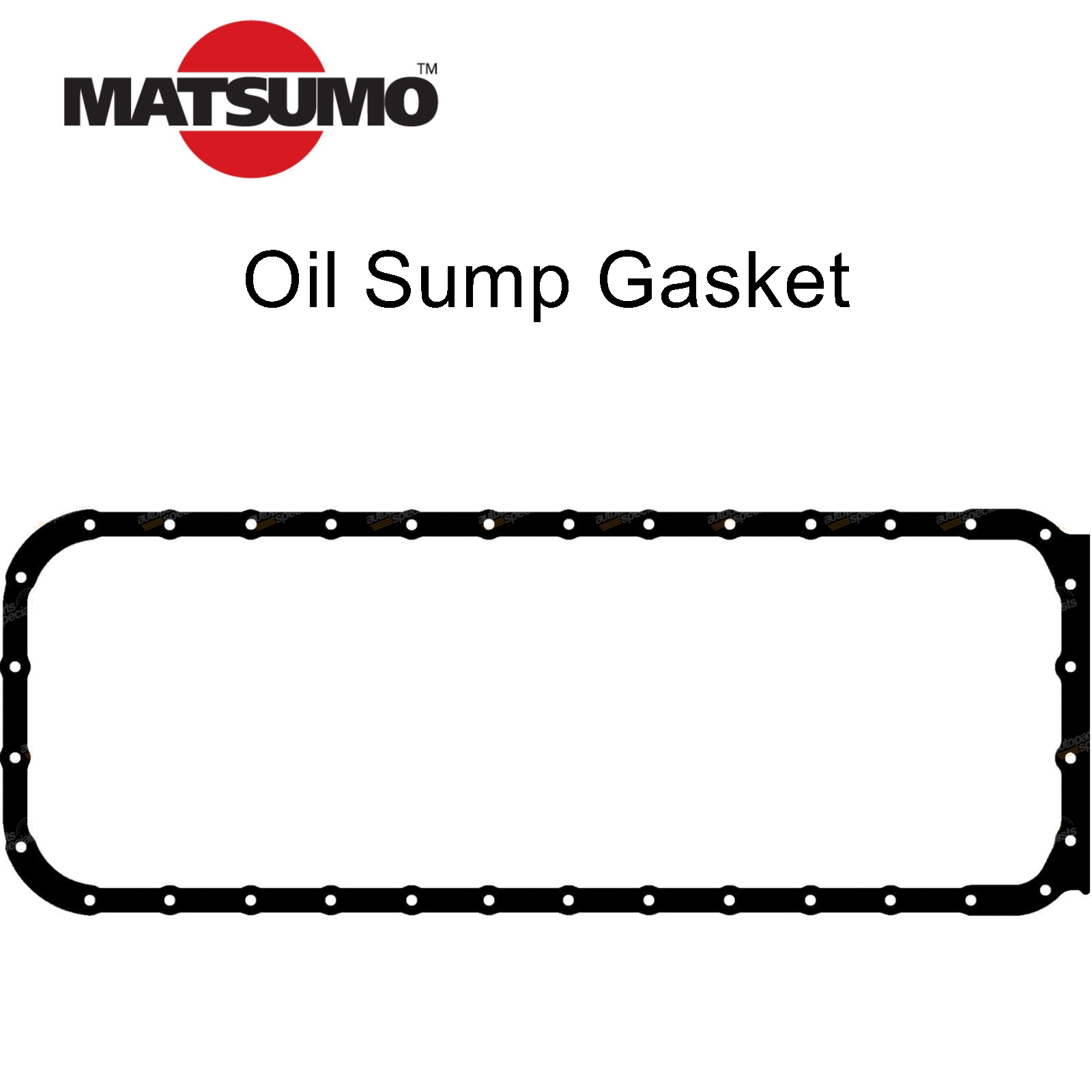 Oil Pan Sump Gasket suits Nissan Patrol GQ Y60 GU Y61 4.2L